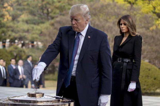 Trump visits South Korea, China