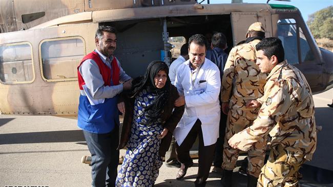 Strong earthquake hits Iran-Iraq border, kills over 350