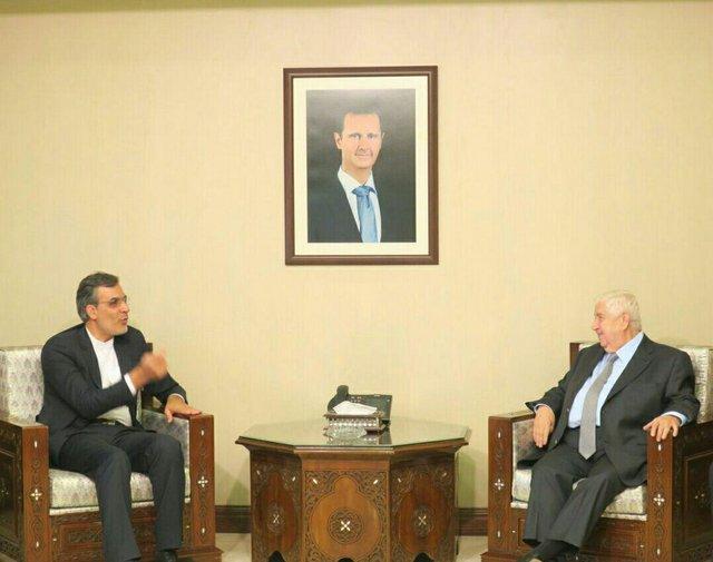 Iran's Deputy FM, Syrian FM discuss regional developments