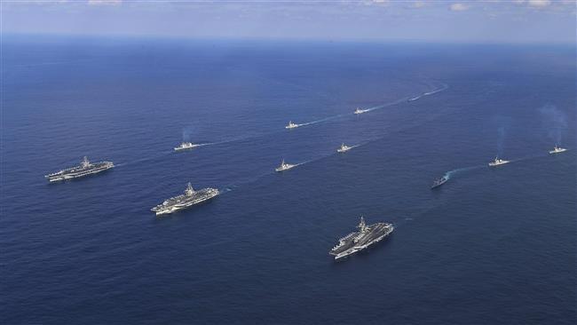 US starts drill with Japan near Korean Peninsula