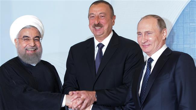 Tehran, Baku, Moscow ink joint statement