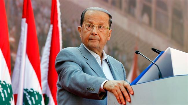 Lebanon has right to resist, foil Israeli plans: Aoun
