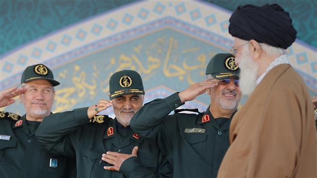 General Soleimani congratulates Ayatollah Khamenei on victory over Daesh