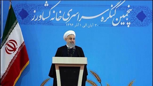 Iran's president extols regional efforts to uproot Daesh