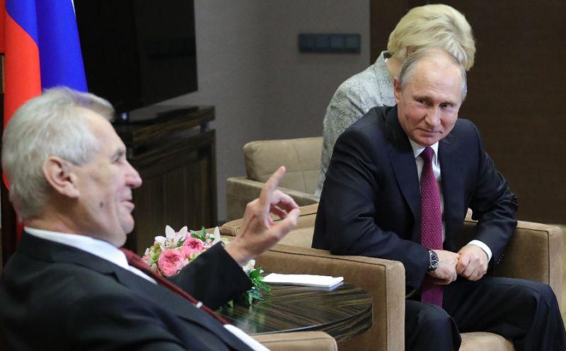 Czech president urges EU to end Russia sanctions