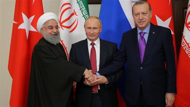 Presidents of Iran, Russia, Turkey hold Syria talks in Sochi