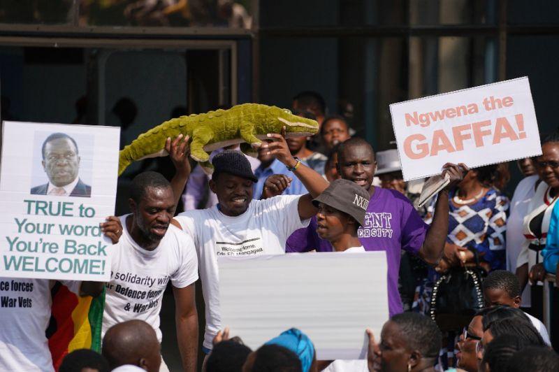 Zimbabwe's next leader says post-Mugabe era is 'full democracy'