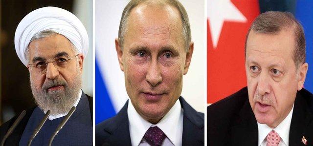 Iran, Russia, Turkey agree to continue anti-terrorism
