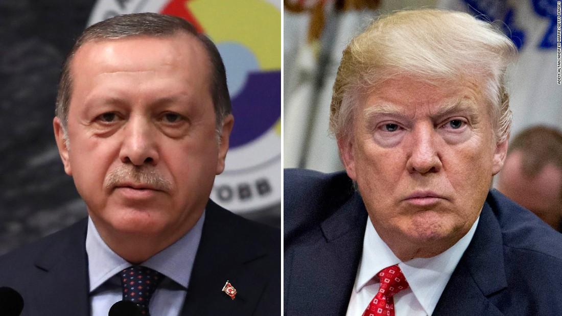 Turkey's Erdogan, U.S. Trump discuss Syria, bilateral ties and Sochi summit: Turkish sources