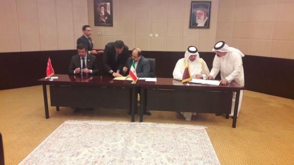 Iran, Qatar, Turkey ink transit cooperation MoU