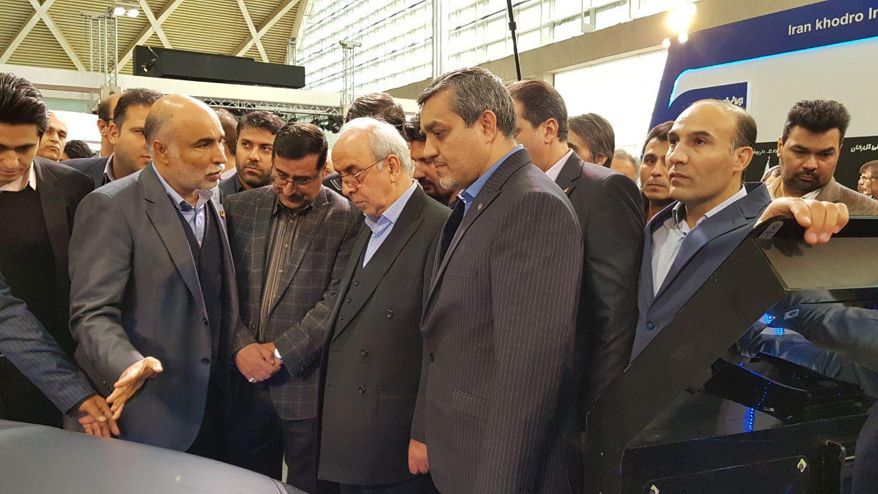 Tehran's 2nd int'l auto show opens