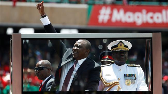 Kenyatta inaugurated as Kenya's president