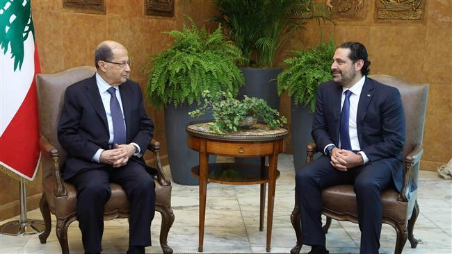 Hariri to 'certainly' remain Lebanon PM: President Aoun