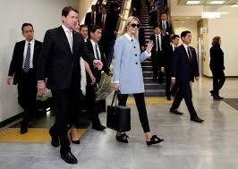 Security heightens in Tokyo during Ivanka Trump's visit