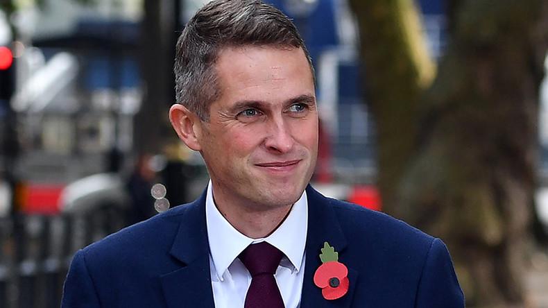 Chair force one! Tarantula-loving civilian replaces Fallon in UK's top defense job
