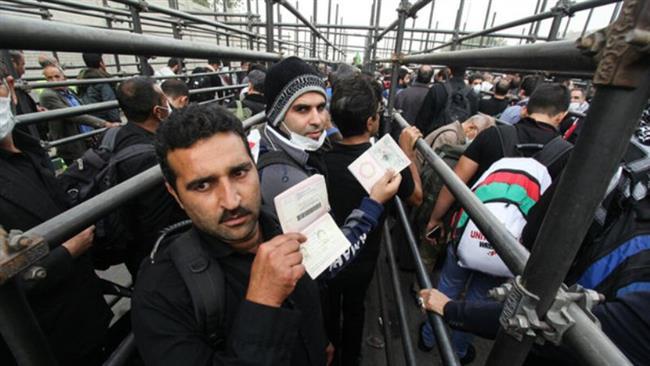 Iranians crossing Mehran border into Iraq ahead of Arba'een ceremonies