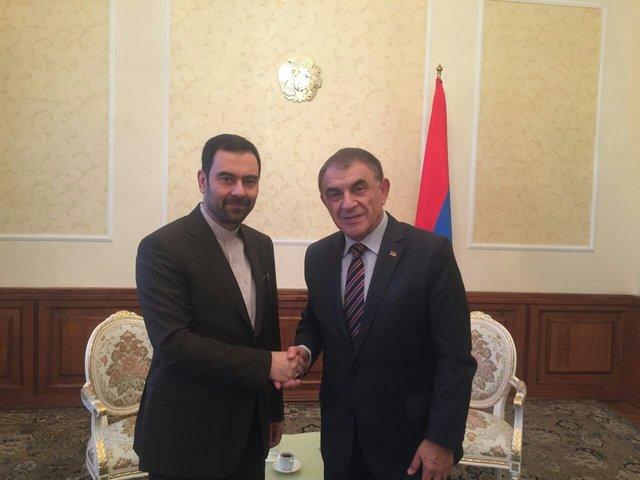 Iran, Armenia stress widening parliamentary ties