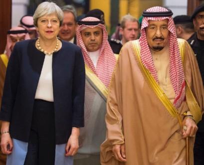 British PM presses Saudi to avert Yemen 'catastrophe'
