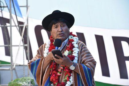 Bolivia's Morales says he'll defy U.S. by seeking 4th term
