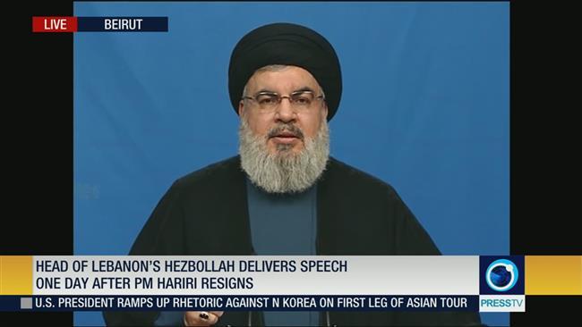 Hezbollah leader: Hariri was under pressure to resign his post