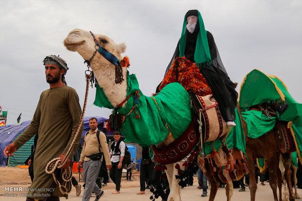 Shia Muslims start marching to Karbala to participate in Arba'een pilgrimage
