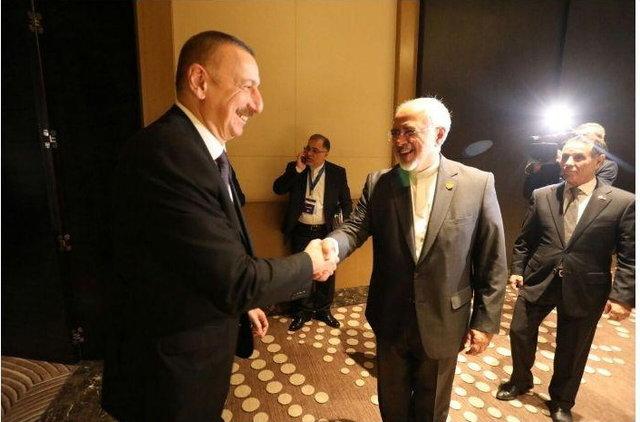 Zarif, Azerbaijani president discuss bilateral, regional matters