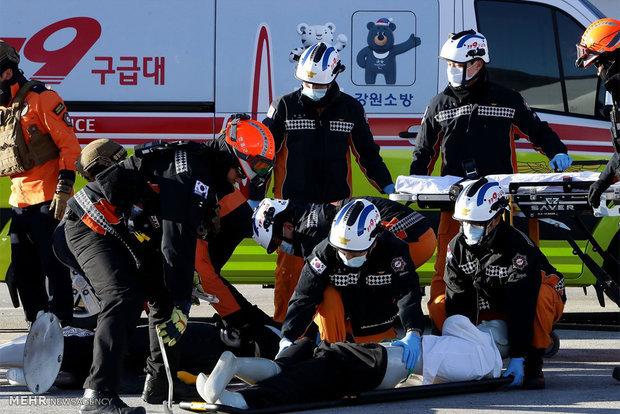 Counter-terrorism drill in South Korea
