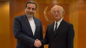 Iran's Deputy FM meets with Amano in Vienna