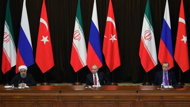 Russia, Iran, Turkey agree on protecting Syria integrity, fighting terror: Lavrov