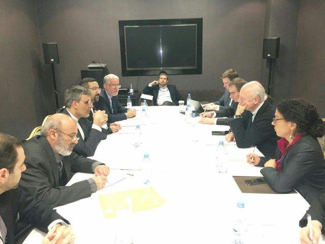 Iran deputy FM, de Mistura discuss Geneva talks On Syria