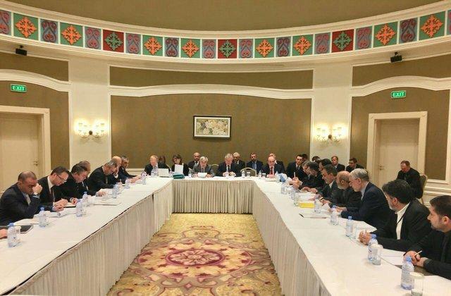 Iran, Turkey, Russia delegations meet on Syria in Astana
