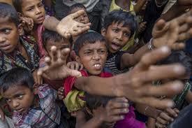 A quarter of Rohingya refugee children suffer from malnutrition