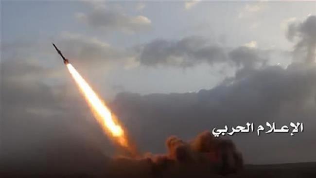 Yemeni forces' missile kills several Saudi mercenaries in Sana'a prov.