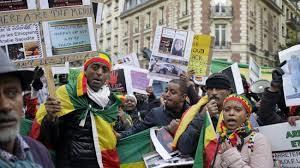 Nigeria's Ethiopians protest abuse in Saudi Arabia