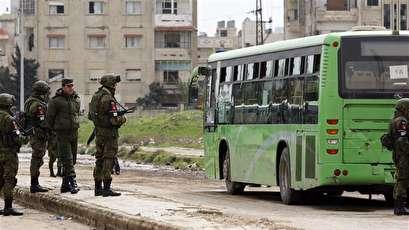 Militants surrender in southwest Syria