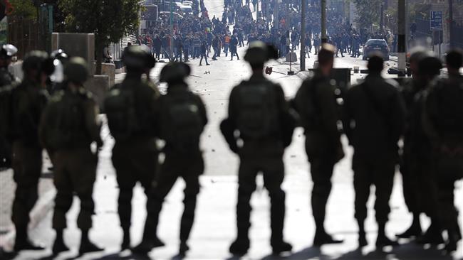 Israeli forces open fire at protesters in Jerusalem al-Quds