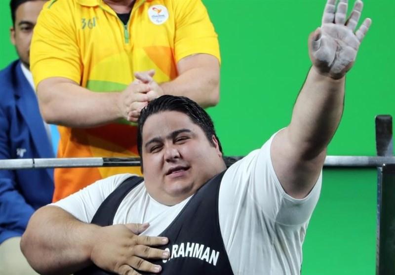 Iran's Siamand Rahman wins gold at world para  powerlifting championships