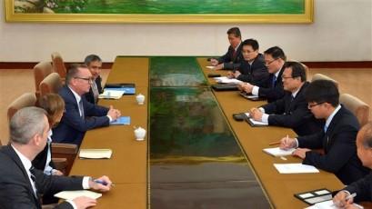 North Korea says UN envoy willing to ease Korean Peninsula tensions