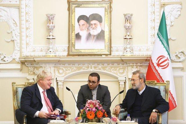Iran's Larijani criticizes Britain for lack of economic cooperation