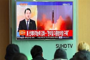 North Korea fires ballistic missile: South Korea