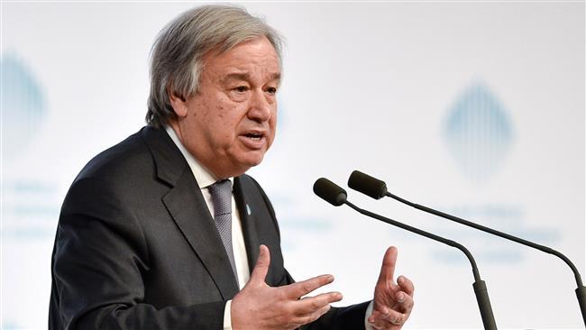 UN chief 'deeply' regrets US veto of Palestinian ex-PM as Libya envoy