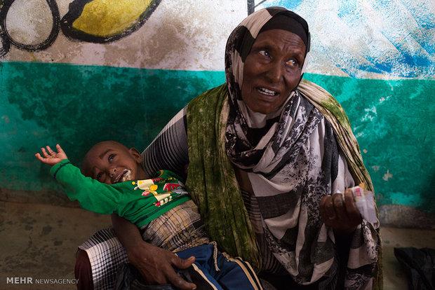 Drought in Somalia in photos