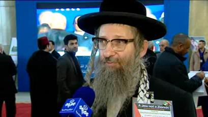Jewish Rabbi: Israeli Zionist gov't disturbs global peace, stability