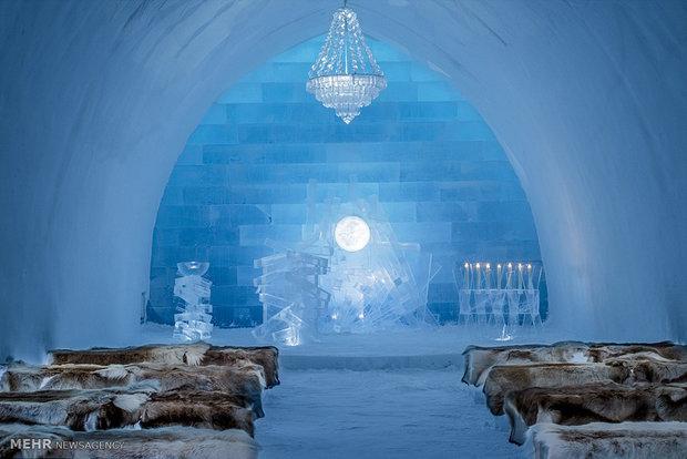 Swedish luxurious ice hotel