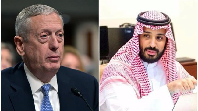 New Pentagon chief accuses Iran of sponsoring terrorism