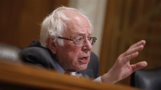 Sanders calls President Trump 'a fraud' over cabinet of billionaires