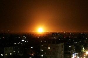 Two Palestinians killed, 5 injured in Israeli airstrike in Gaza