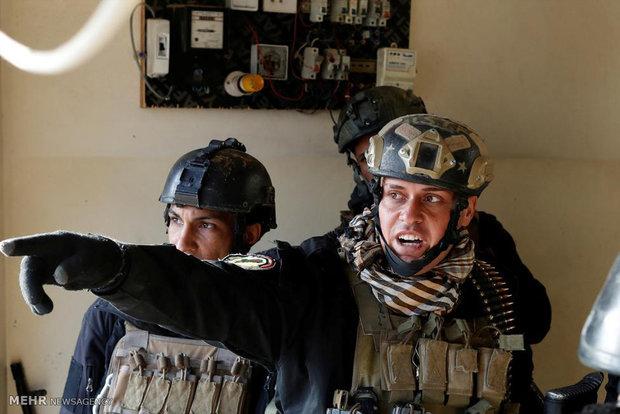 War in Mosul streets
