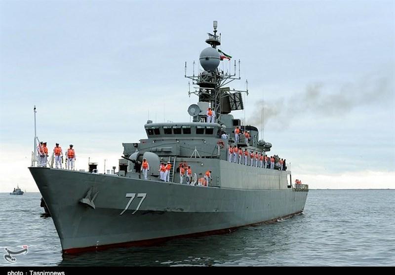 Iran Friendship Flotilla berths at Russian port
