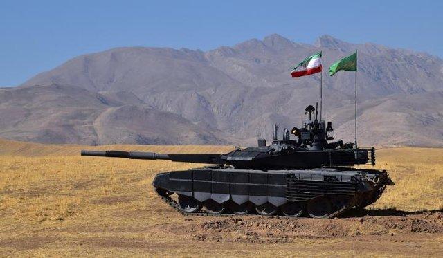 Iran unveils fist home-made advanced tank